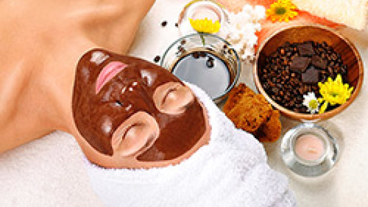 Cocoa face mask