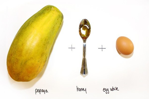 Egg White & Papaya Face Mask