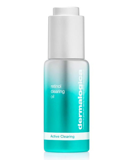 The acne-clearing retinol oil
