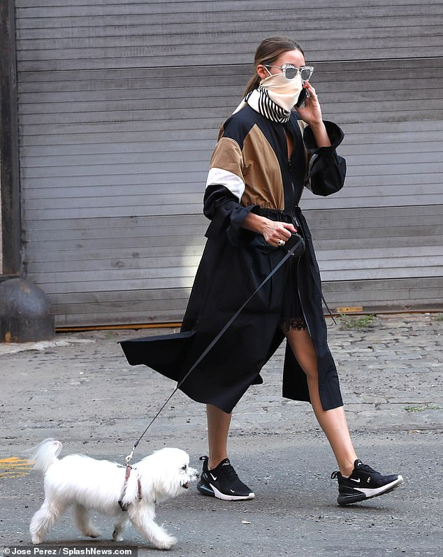 Influencer: Back in April, she shared tips with her massive following on how to stay stylish, while staying safe and slowing the spread of COVID-19