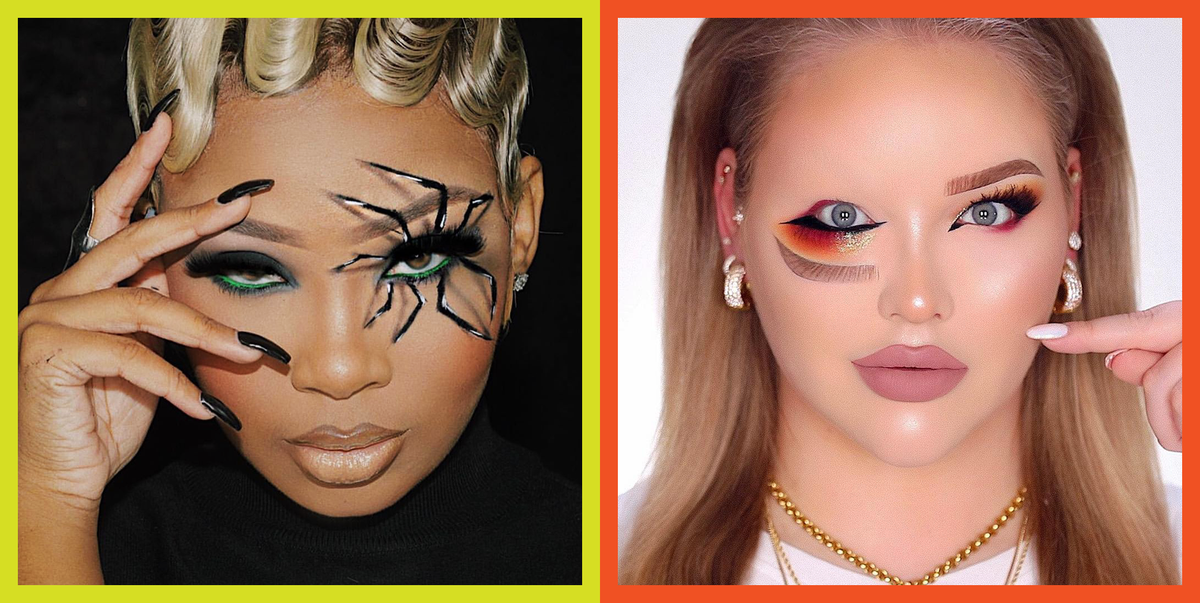 25 Halloween Eye Makeup Ideas and Easy Looks for 2020