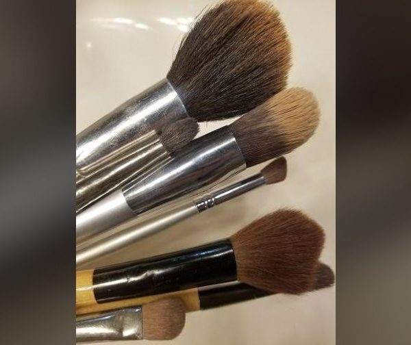Three easy steps to clean makeup brushes